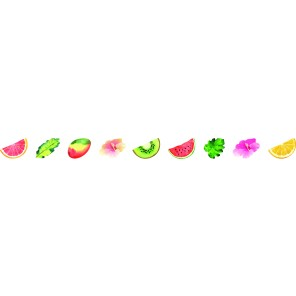 Washi Sticker - Tropical