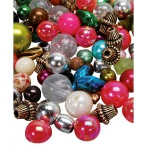 Perlen gemischt klein - 500g