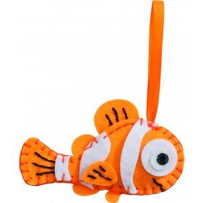 Filz Nähset - Clownfisch
