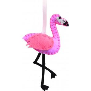 Filz Nähset - Flamingo
