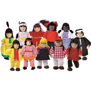 Winzling Biegepuppen Set - Kinder der Welt