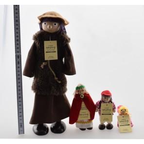Winzling Biegepuppe - Inuit Mama