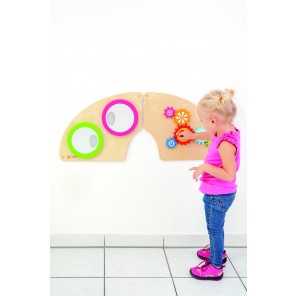 Wandspiel Set - Zahnrad & Spiegel