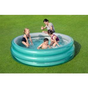 "Bestway - Pool Rund ""Big Metallic"" - 201 x 53cm"
