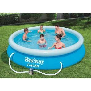 Bestway - Pool Set mit Filterpumpe - Ø 366 x 76cm