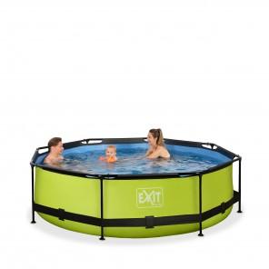 EXIT - Pool Set mit Filterpumpe - Ø 300 x 76cm
