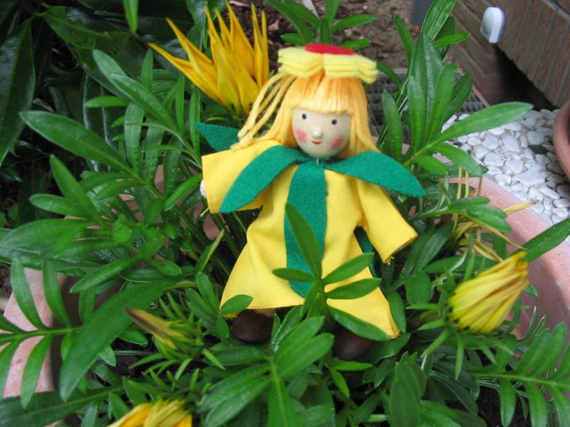 Blumenkinder Winzling Biegepuppen Set